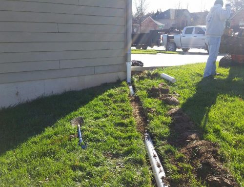 Downspout Drainage Saves Foundations
