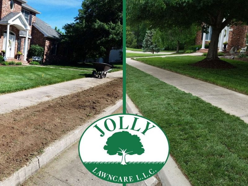 Sod Installation Makes an Instantly Greener Grass Broadway Strip for immediately Beautiful Curb Appeal 4 Columbia MO Landscaping by Jolly Lawncare web